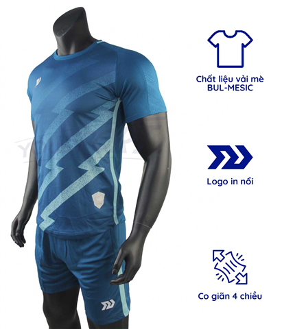 Quần áo bóng đá Bulbal Flash