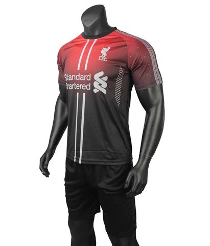 Quần áo Liverpool Đen Đỏ