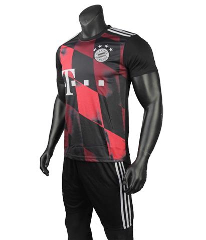 Quần Áo Bayern Munich Đen Đỏ