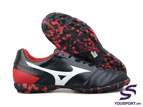 Giày Mizuno Monarcida Sala Select TF Đen Đỏ