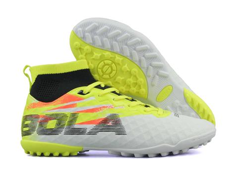 Giày bóng đá Jogarbola 9018 TF Trắng Vàng