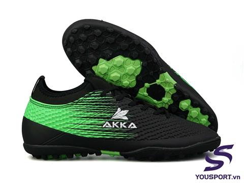 Giày Akka Control 2 TF Đen Xanh Lá
