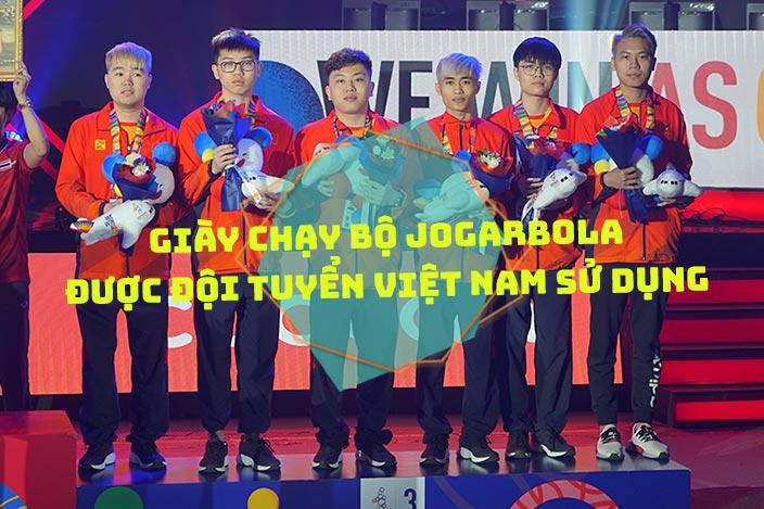 Giày chạy bộ Jogarbola được Đội tuyển Việt Nam sử dụng