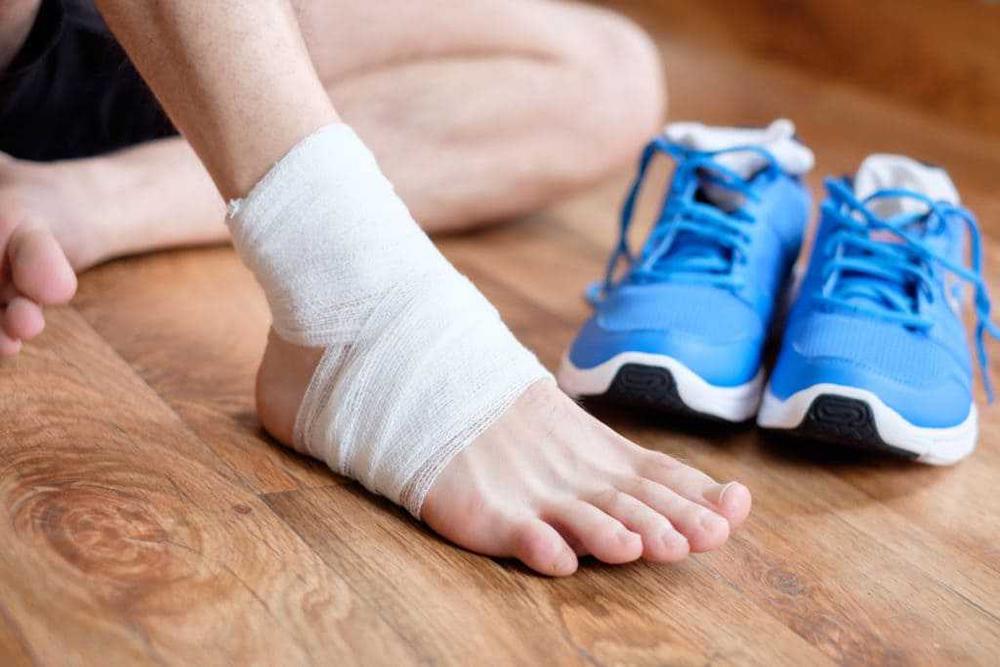 Công dụng Bó gót chân khi chơi thể thao?