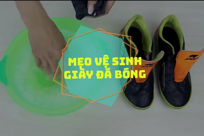 Một số mẹo vệ sinh giày đá bóng đúng cách