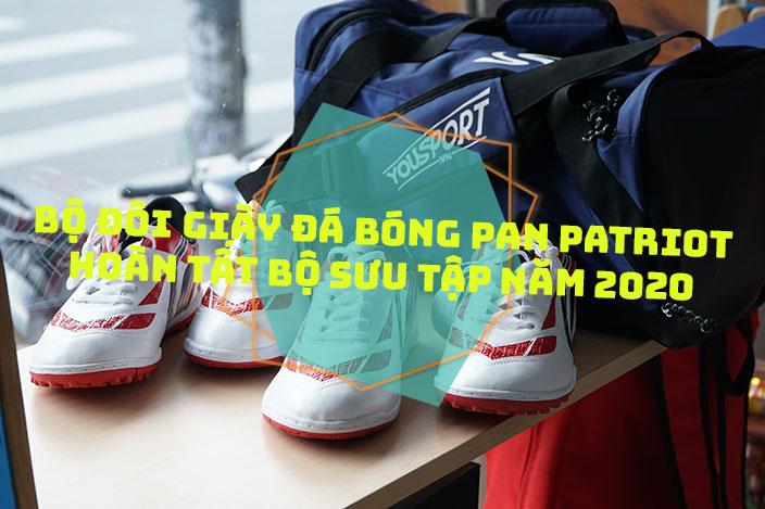 Bộ đôi giày đá bóng Pan Patriot Dare S - Hoàn tất bộ sưu tập năm 2020