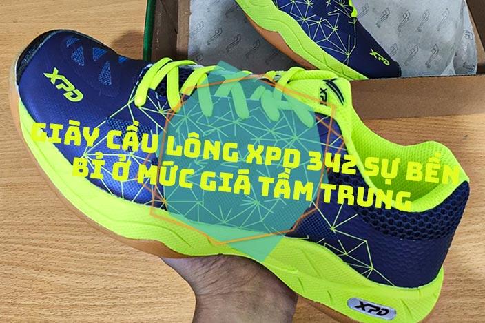 Giày cầu lông XPD 342 sự bền bỉ ở mức giá tầm trung