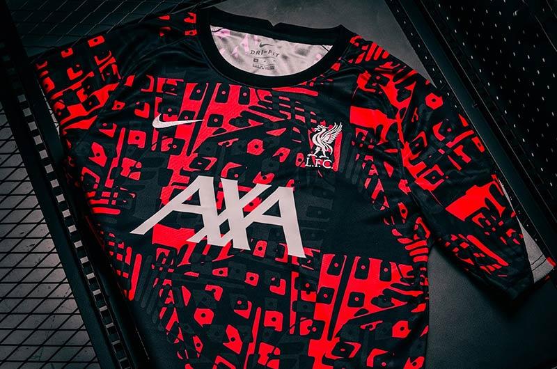 Quần áo bóng đá Liverpool Prematch