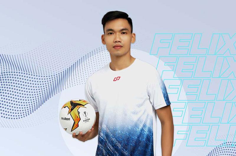 Quần áo bóng đá không logo CP Felix