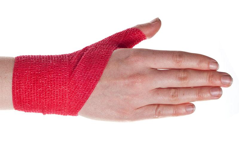 Cách quấn bảo vệ khớp ngón cái