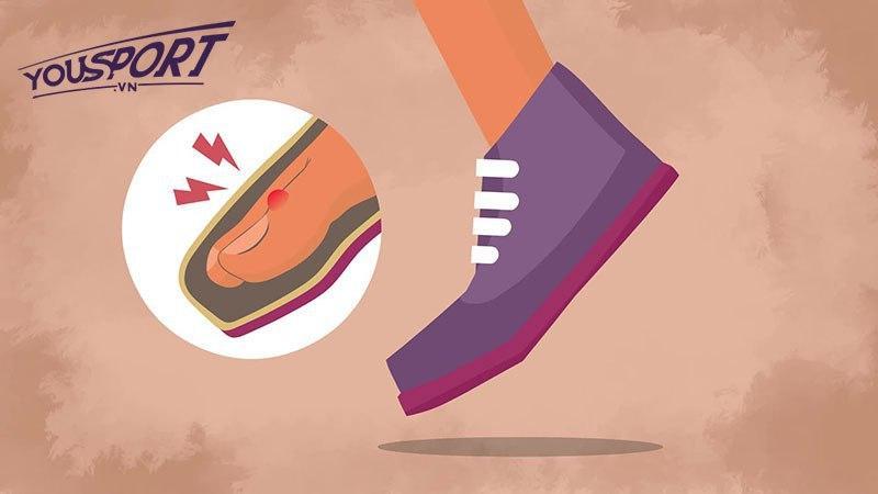 Tác hại khi chọn size form giày bóng đá