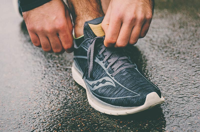 Giày chạy bộ cho kiểu bàn chân bình thường
