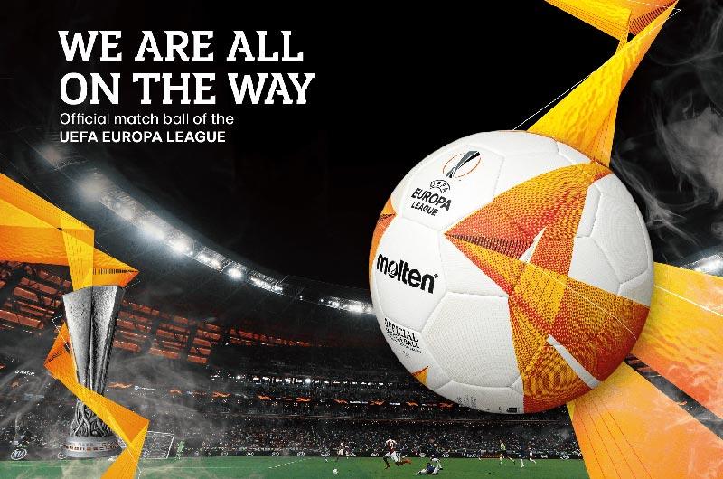 Thiết kế quả bóng đá Molten cực kì bắt mắt