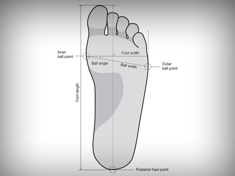 Chọn giày bóng đá theo bề rộng bàn chân