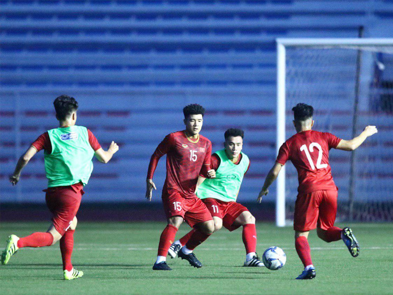 Đội hình thi đấu SEAGAME 2019 tuyển Việt Nam
