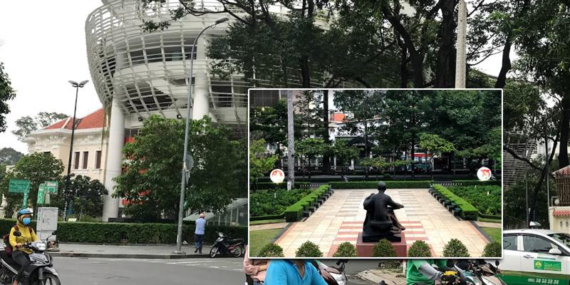 Sân bóng rổ Nhà Thiếu Nhi Thành Phố Hồ Chí Minh