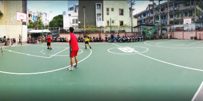 Sân bóng rổ Trung Tâm TDTT Q.4