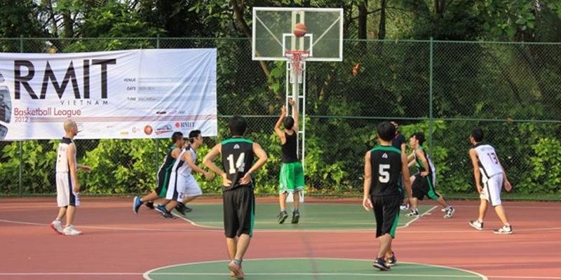 Sân bóng rổ của DH RMIT