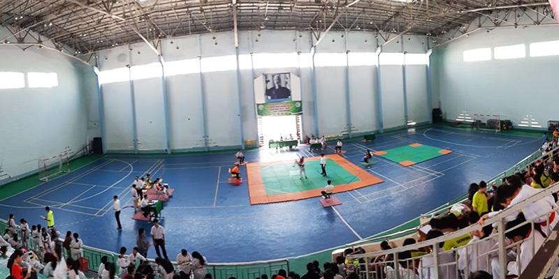 Sân bóng rổ Trung Tâm TDTT Q.8