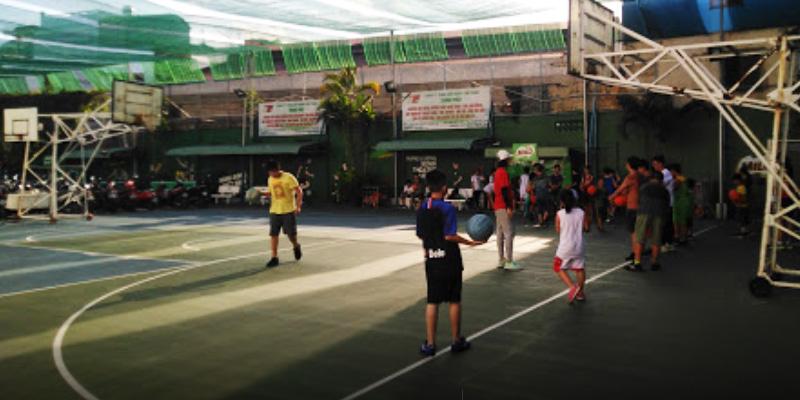 Sân bóng rổ Nhà thi đấu Lãnh Bình Thăng
