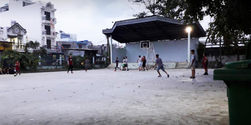 Sân bóng rổ Nhà Thiếu Nhi Q.12