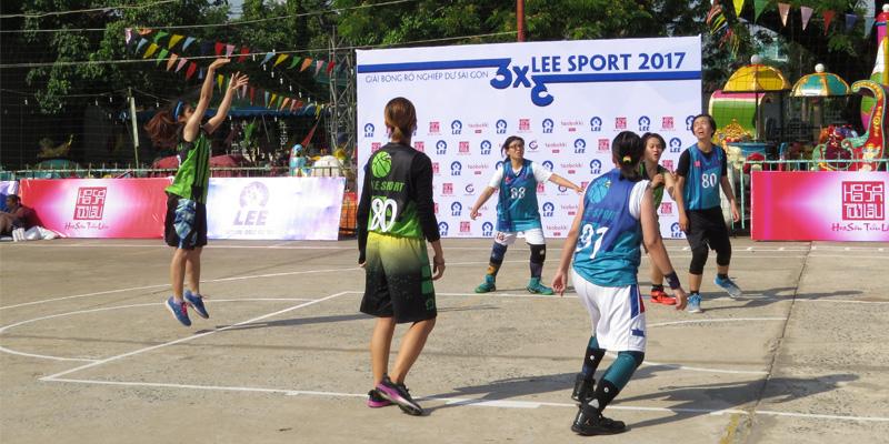 Sân bóng rổ Trung tâm TDTT Phú Nhuận