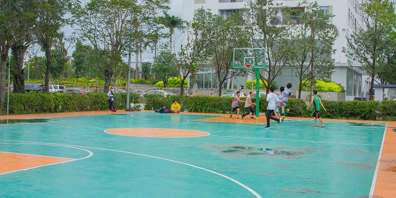 Sân bóng rổ khu dân cư Opal River side