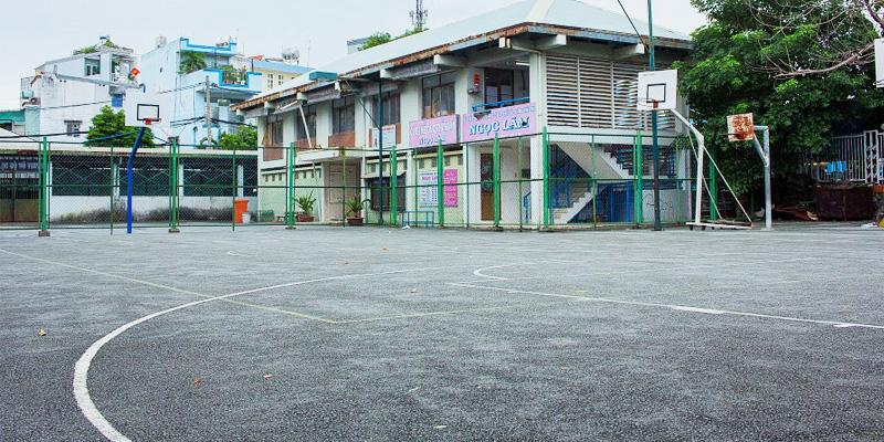 Sân bóng rổ Chương Dương
