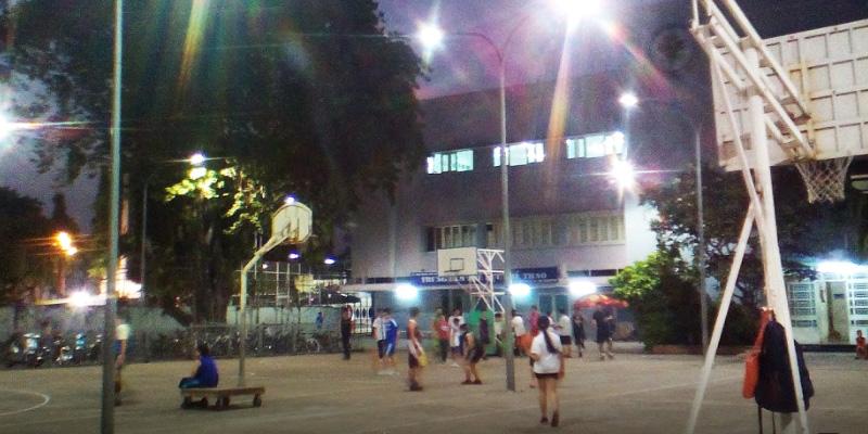 Sân bóng rổ Phan Đăng Lưu