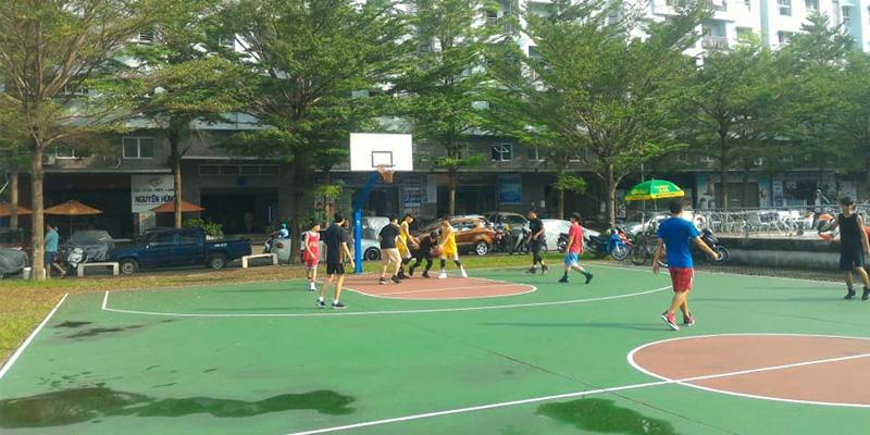 Sân bóng rổ Ehome 3