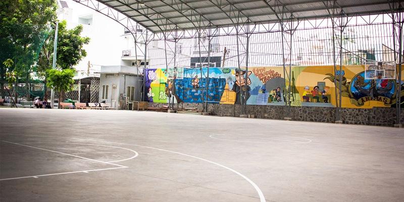 Sân bóng rổ Don Bosco Bến Cát