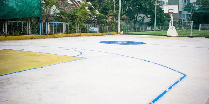 Sân bóng rổ thanh niên phường 5