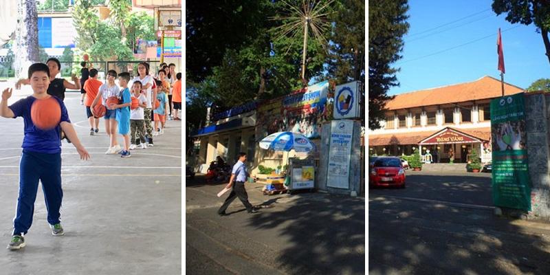 Sân bóng rổ Cung Văn Hóa Lao Động