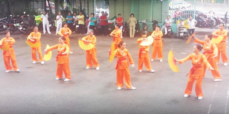 Sân bóng rổ Trung Tâm TDTT Q Tân Phú