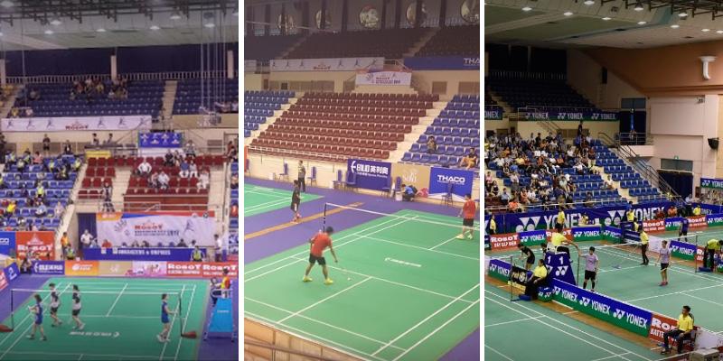 Sân bóng rổ Nhà Thi Đấu Nguyễn Du