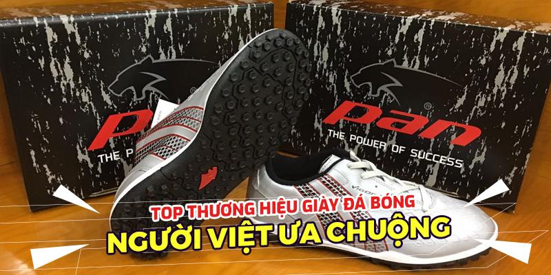 Top thương hiệu giày bóng đá tại Việt Nam