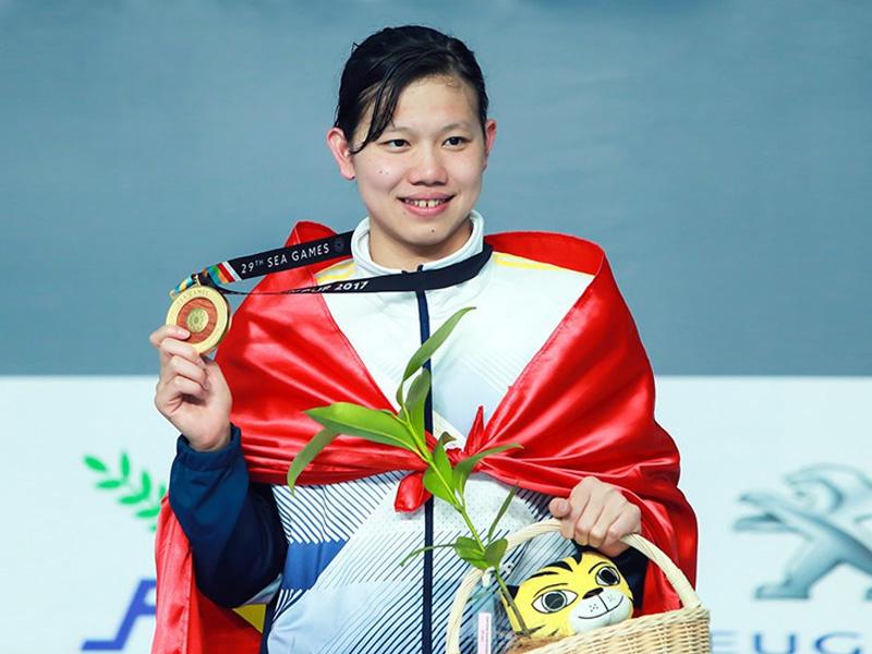 VĐV Nguyễn Thị Ánh Viên bộ môn Bơi SEAGAME 2019