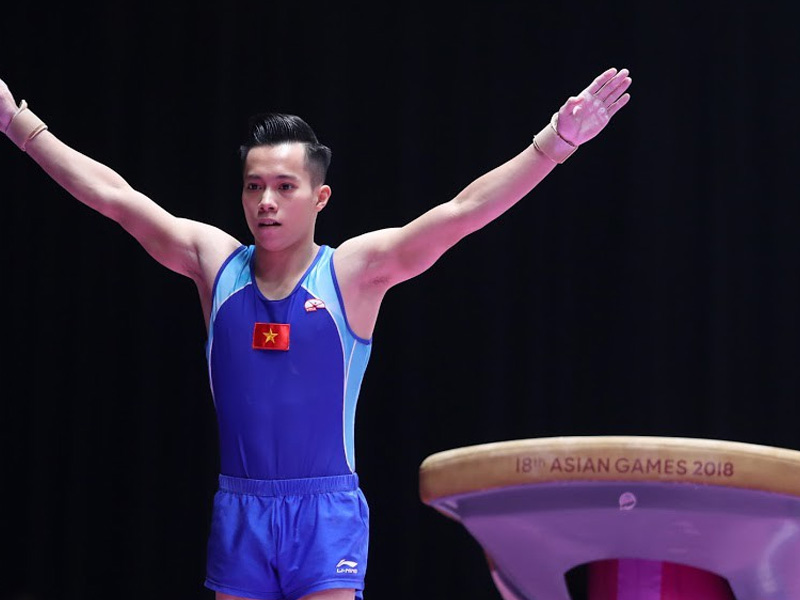 VĐV Lê Thanh Tùng bộ môn TDDC SEAGAME 2019