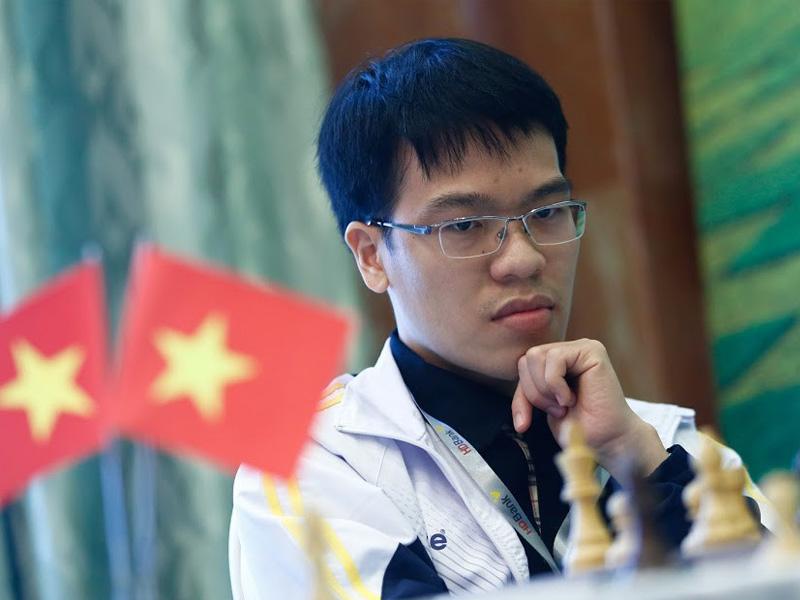 VĐV Lê Quang Liêm bộ môn Cờ vua SEAGAME 2019