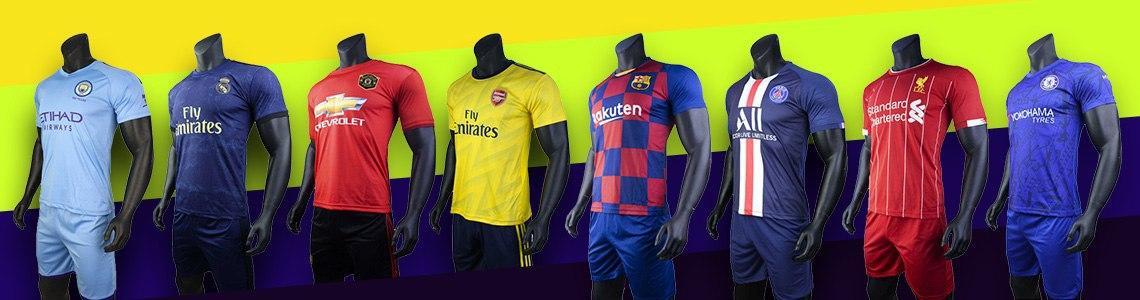 Quần áo bóng đá câu lạc bộ và đội tuyển