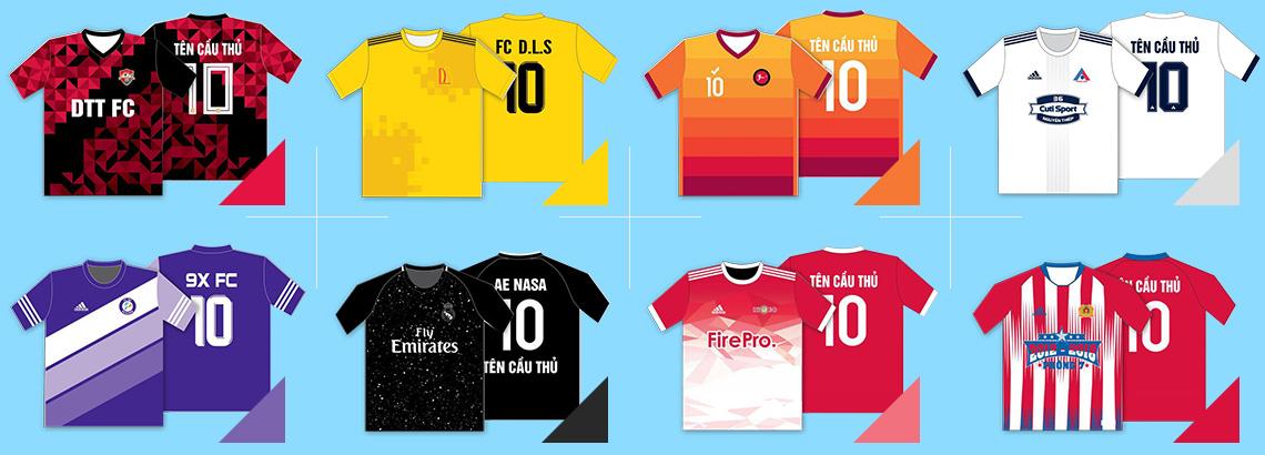 Đặt quần áo bóng đá theo yêu cầu giá rẻ và đẹp tại TPHCM
