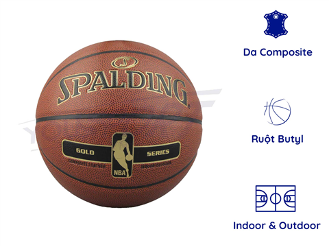 Quả Spalding NBA Gold Composite S7