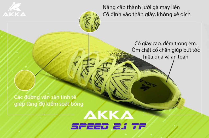Giày Akka Speed 2.1 TF