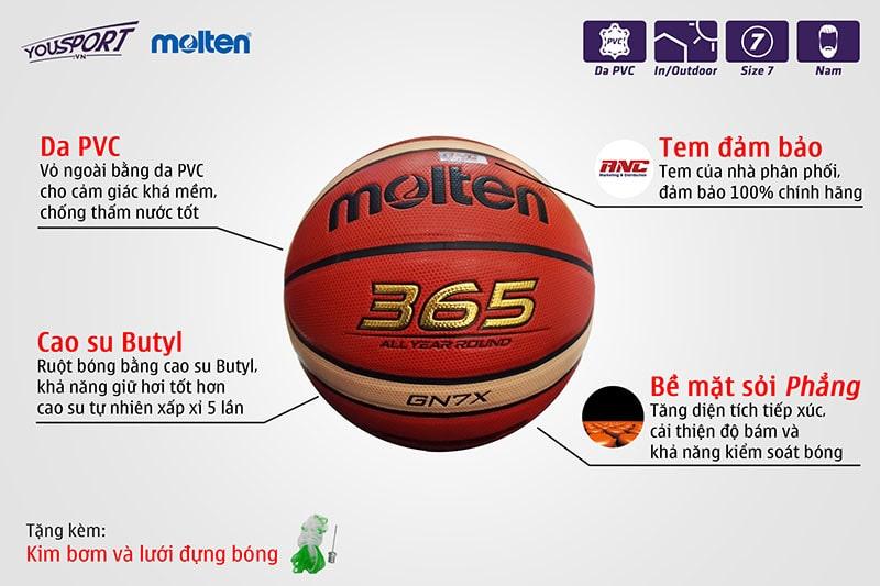 Quả MOLTEN 365 GN7X DA