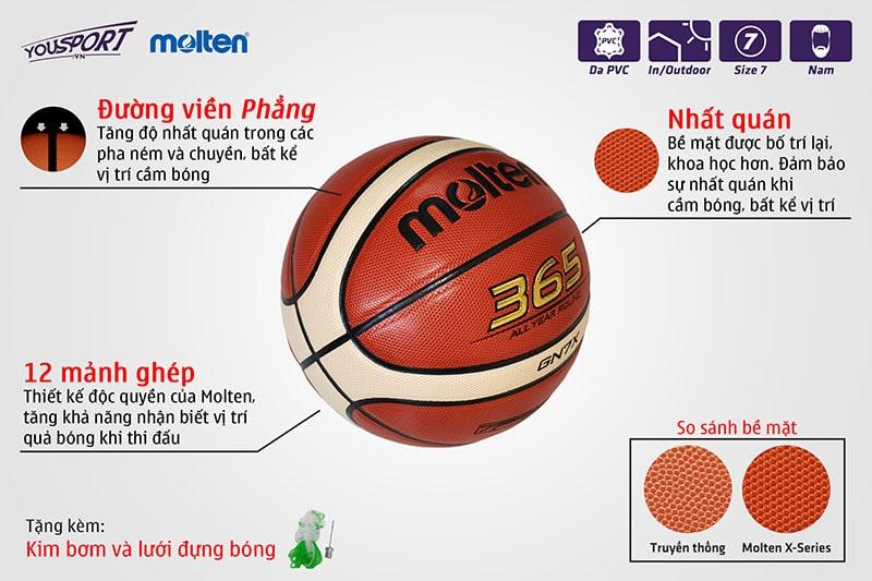 Quả MOLTEN B7G3200 Da
