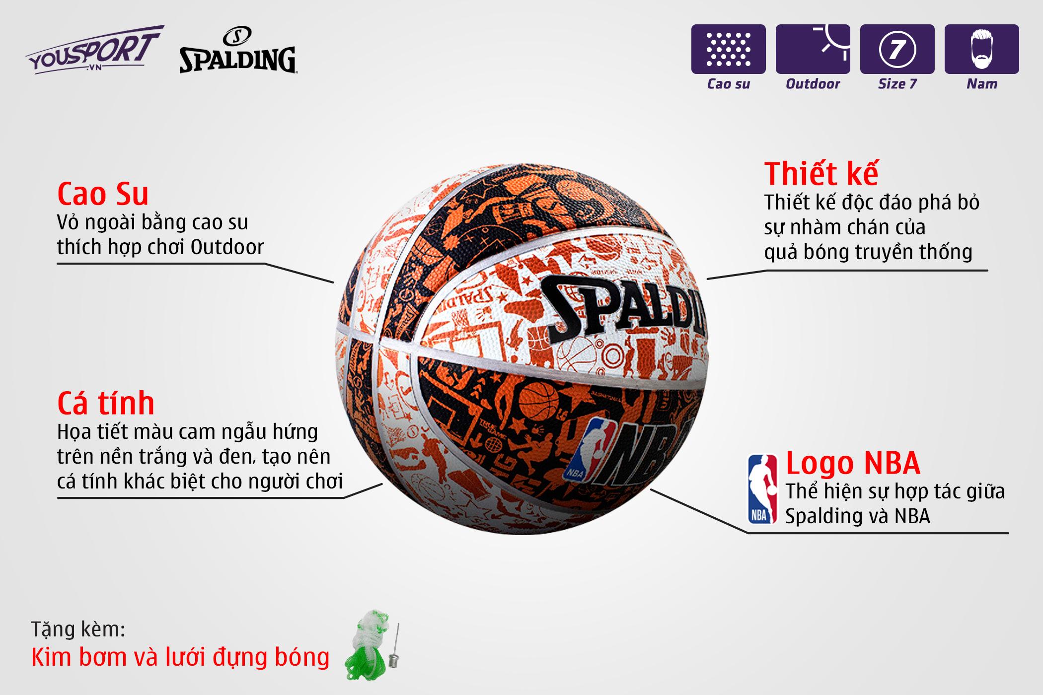 Quả Spalding Graffiti S7