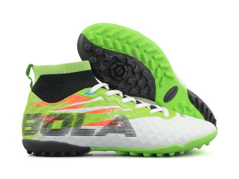 Giày bóng đá Jogarbola 9018 TF Trắng Xanh Lá