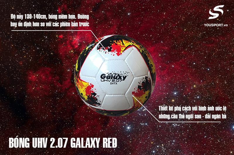 Quả Bóng UHV 2.07 Galaxy Red