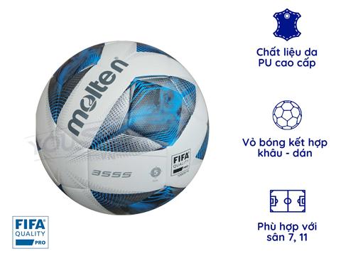 Quả bóng đá Molten số 5 FIFAPro F5A3555-K