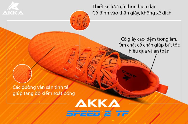 Giày Akka Speed 2 TF
